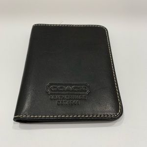 Coach ID holder wallet - Black